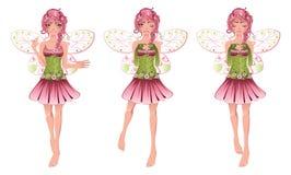 Флористическая фея Стоковые Изображения