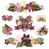Флористические букеты Стоковая Фотография RF