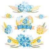 Флористические букеты Стоковое Изображение RF