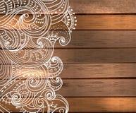 Флористические украшения для красивого дизайна праздника Стоковое Изображение