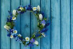 Флористический венок Стоковая Фотография RF