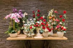 Флористический дисплей стоковые фотографии rf