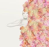 Флористический костюм Стоковое Изображение RF