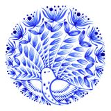 Флористический круг Стоковое Изображение