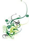 Флористический орнамент весны Стоковое фото RF