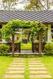 Флористический свод Стоковая Фотография RF