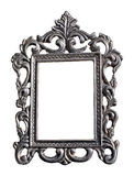 флористический серебр рамки Стоковые Фото
