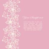 Флористический шнурок Стоковые Изображения RF