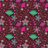 флористическое безшовное Стоковая Фотография RF