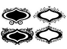 Флористическое головное название Стоковые Изображения RF