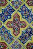 Флористическое керамическое искусство картины Стоковые Изображения RF