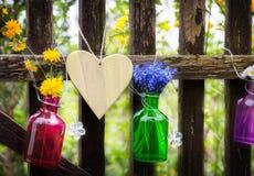 Флористическое украшение, загородка сада Стоковые Фото