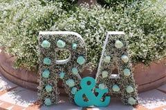 Флористическое украшение Стоковое Изображение
