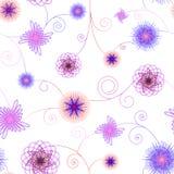 Флористическое spirography Стоковые Изображения