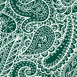 Флористической предпосылка Индии племенная Пейсли картины mhendi хны иллюстрации вектора орнамента картины mehendi нарисованная р Стоковое фото RF