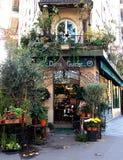 Флорист в Париже Стоковые Изображения
