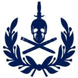 Флот подводной лодки военно-морского флота значка Стоковые Фотографии RF