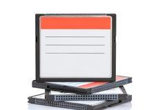 флэш-память карточки компактное Стоковое Изображение RF
