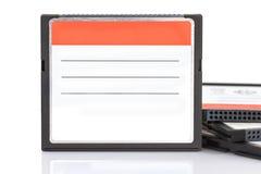 флэш-память карточки компактное Стоковая Фотография RF