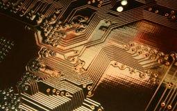 Хайвеи на электроны i Стоковые Изображения