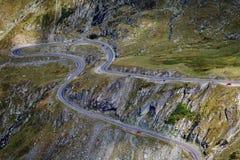 Хайвей в горах Стоковое Изображение RF
