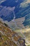 Хайвей в горах Стоковые Изображения
