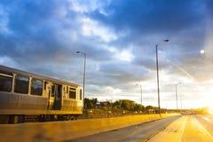 Хайвей города стоковая фотография