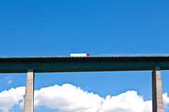 хайвей европы моста brenner Стоковая Фотография RF