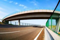 Хайвей и viaduct стоковое изображение rf