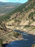 хайвей каньона стоковое изображение rf