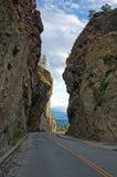хайвей каньона Стоковые Фотографии RF