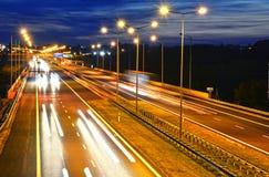 хайвей Контролировать-доступа в Poznan, Польше стоковая фотография rf