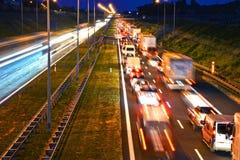 хайвей Контролировать-доступа в Poznan, Польше стоковое изображение rf