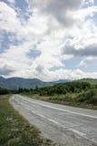 Хайвей к горам дорога transfagarasan Румыния Стоковое Изображение RF