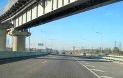 хайвей моста сверх стоковая фотография rf