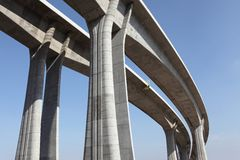 хайвей моста Стоковая Фотография RF