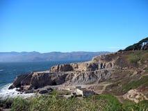 Хайвей дороги морем стоковое изображение rf
