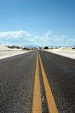 хайвей пустыни Стоковое фото RF
