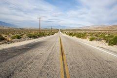 Хайвей пустыни Стоковые Фотографии RF