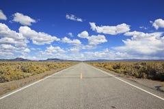 хайвей пустыни california Стоковое Фото