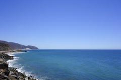 Хайвей 1 Тихоокеанского побережья Стоковые Изображения RF