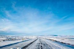 Хайвей 1 Исландия Стоковое фото RF