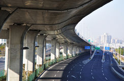 хайвей 5 мостов Стоковая Фотография RF