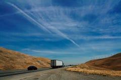 хайвей 580 california Стоковая Фотография