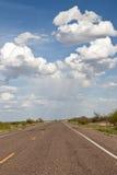 хайвей cloudscape сверх стоковое изображение