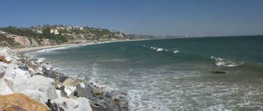 хайвей los angeles прибрежный Стоковое Фото