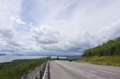 Хайвей Trans Канады стоковые изображения rf