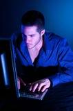 хакер компьютера Стоковые Изображения