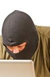хакер компьютера Стоковые Фото
