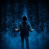 Хакер для найма Стоковое Фото